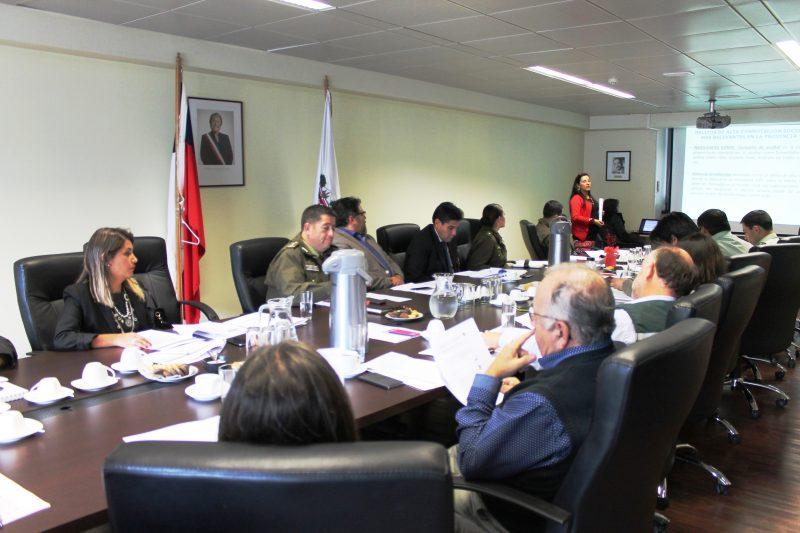 SENDA Araucanía participa en Subcomité de Seguridad Pública de Gobernación de Cautín