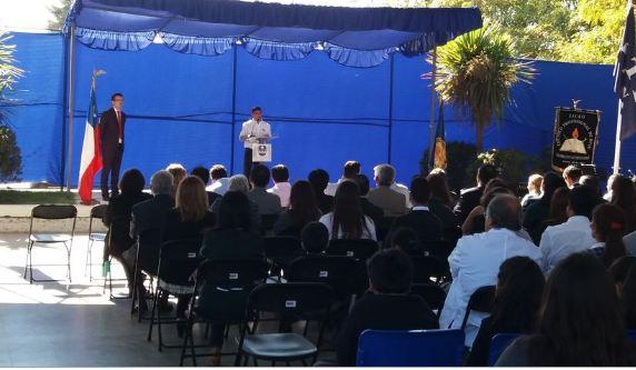 SENDA Previene Buin participa de inauguración del año escolar
