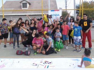 SENDA Previene San Ramón participa de jornada junto a «Quiero mi barrio»