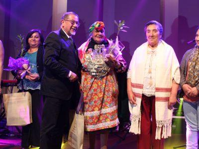 Machi que apoya centros de tratamiento de SENDA Araucanía fue reconocida en el Día Internacional de la Mujer
