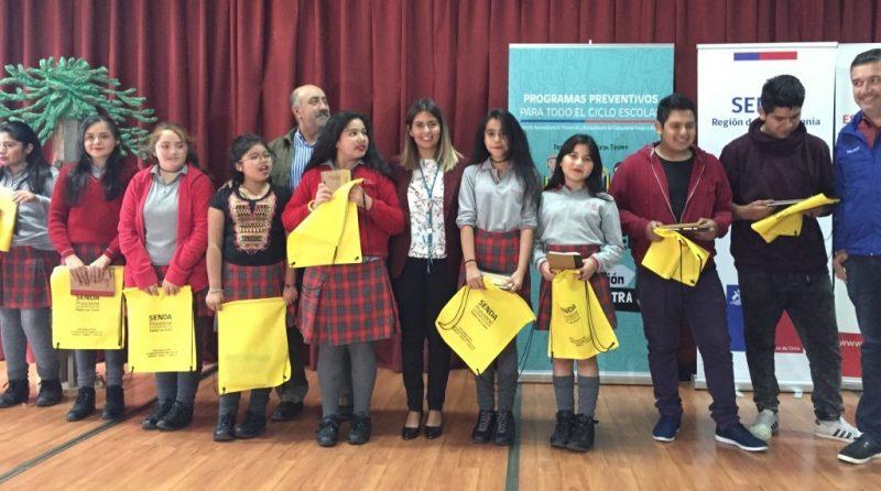 44 establecimientos educacionales de comuna de Padre Las Casas accederán a programas preventivos de SENDA Araucanía
