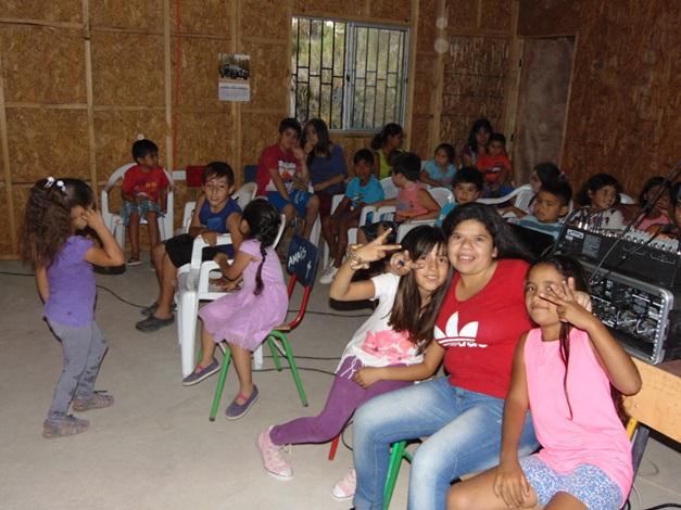 Finaliza ciclo de cine familiar preventivo en Monte Patria
