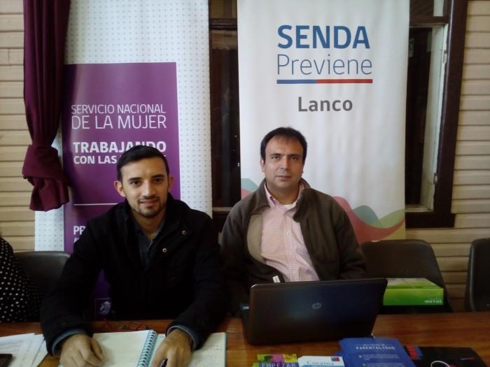 SENDA Previene Lanco participó de operativo de atención en terreno