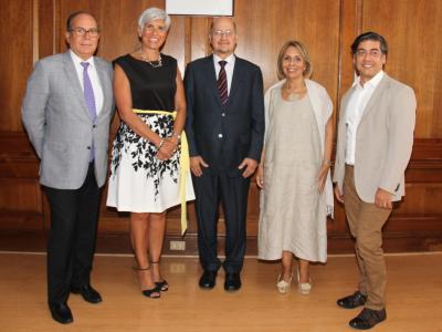 Director de SENDA se reunió con ex directores de CONACE y SENDA
