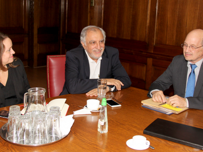 Director de SENDA se reunió con saliente jefe del Observatorio Interamericano de Drogas