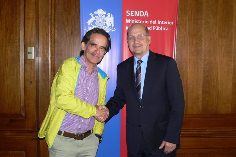 Director de SENDA recibió a presidente de Confusam