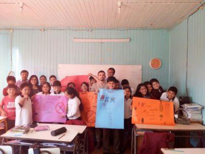 SENDA Previene Lanco dio el vamos a actividades preventivas del año escolar en la Escuela Maranata