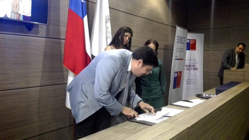 SENDA y Sernameg firman protocolo de colaboración