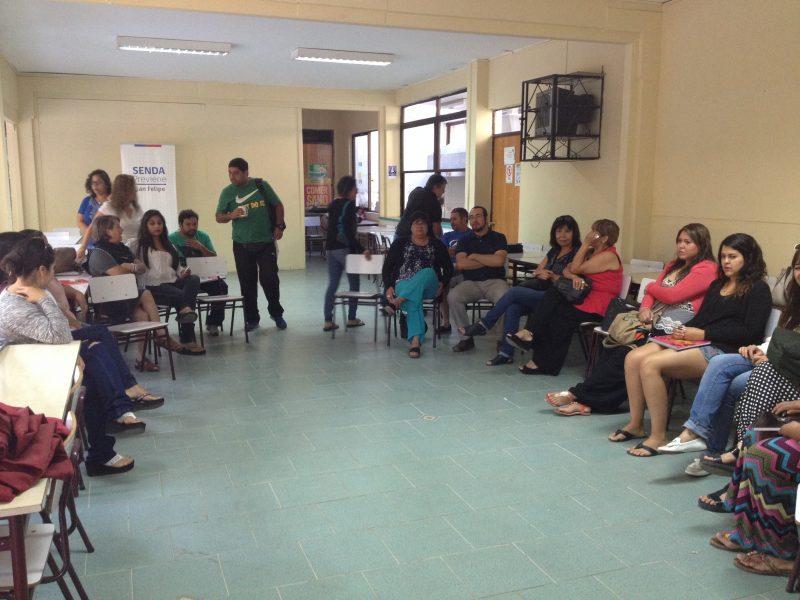 Docentes de San Felipe fueron capacitados en programas escolares de SENDA