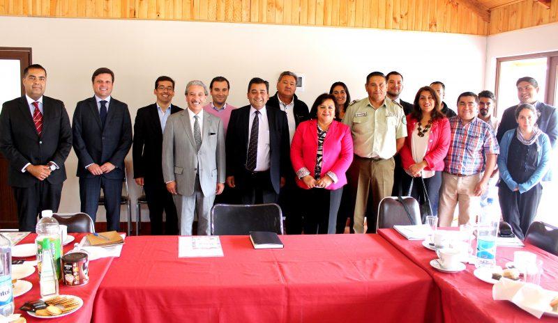 SENDA O'Higgins participa de Consejos Comunales de Seguridad Pública en la región
