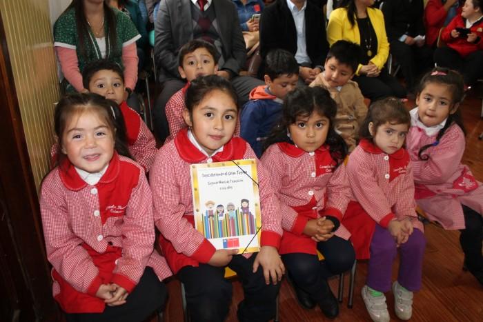 En Escuela Rural Cuinco Alto dieron el vamos al año escolar preventivo de La Unión
