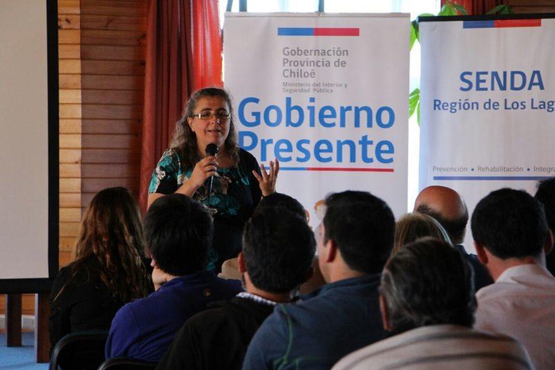 SENDA Maule participa activamente en Gobierno en Terreno