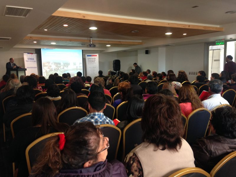 Presidenta Bachelet festeja con SENDA el Día de la Prevención