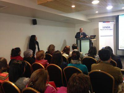 Con gran convocatoria SENDA cerró en Puerto Montt ciclo de seminarios sobre drogas, adolescencia y parentalidad