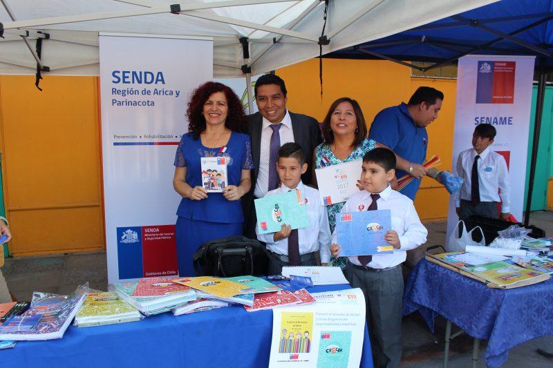 Ochenta y siete establecimientos de la región continúan trabajo preventivo de SENDA