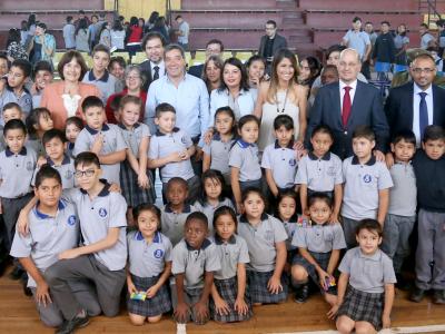 Director de SENDA y Ministra de Salud encabezan incorporación de liceo de Independencia a programa preventivo de consumo de drogas