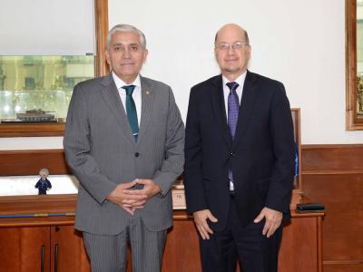 Director de SENDA sostuvo reunión protocolar con director general de la Policía de Investigaciones