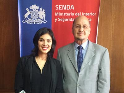 Director de SENDA recibió saludo protocolar de diputada Karol Cariola