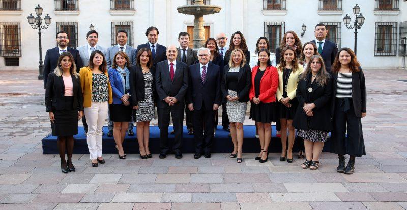 Vicepresidente Fernández recibió a Director Nacional y Directores Regionales de SENDA