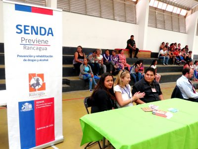 SENDA Rancagua participa en Feria de Servicios en Centro Penitenciario