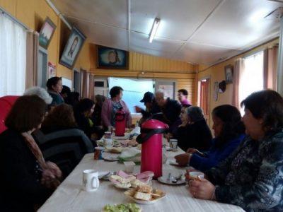 SENDA Previene Lanco realizó jornada informativa con adultos mayores de la comuna