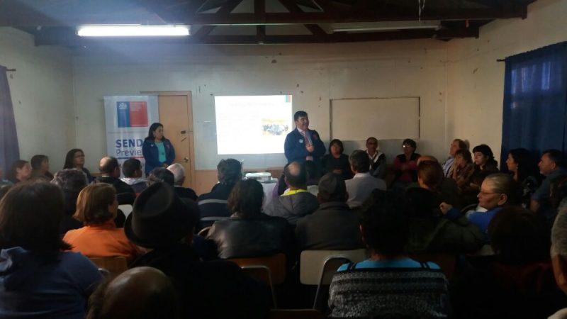 SENDA activa su campaña mundialista en Curicó