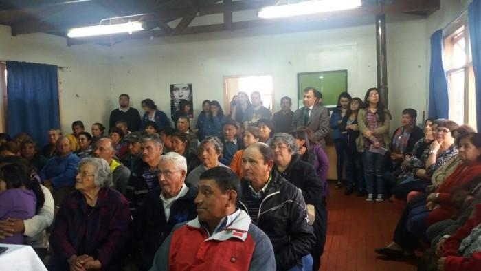SENDA Previene La Unión realizó reunión con vecinos de población Santa Mónica para conocer sus necesidades y levantar propuestas desde el territorio