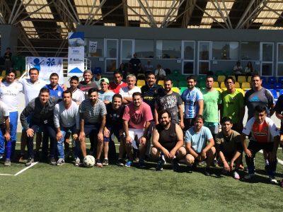 En Villa Alemana se realiza campeonato de fútbol que reúne a centros de tratamiento ambulatorios