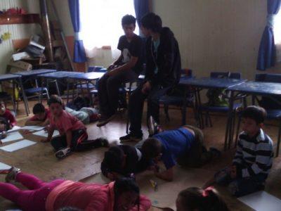 Programa Actuar A Tiempo de SENDA Previene Paillaco realizó jornada prosocial con niños y niñas de escuelas de verano