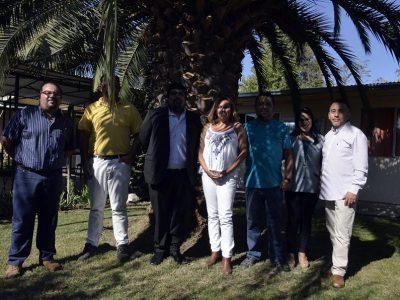 Directora regional de Valparaíso y Gobernador de Los Andes visitan centro Renacer en San Esteban