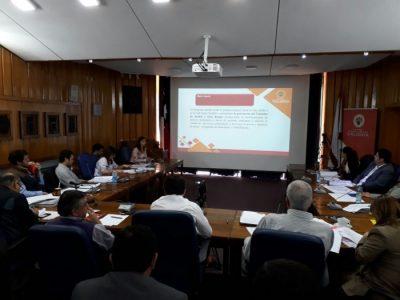 SENDA Previene Valdivia realizó presentación de su trabajo frente al Concejo Municipal 2017