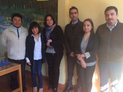 Centro Educacional Laura Vicuña firma compromiso preventivo