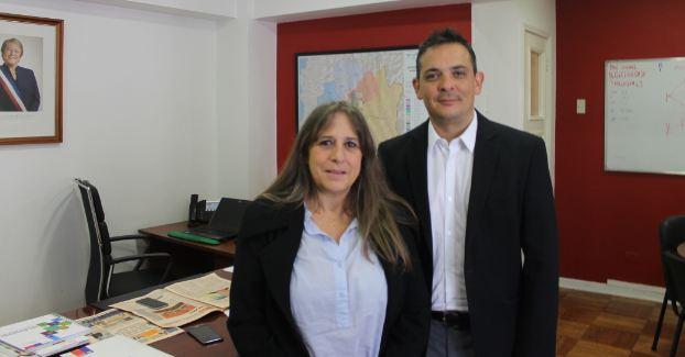 Directora regional de SENDA sostiene reunión con Sercotec