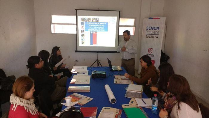 Promueven la reinserción social en La Serena