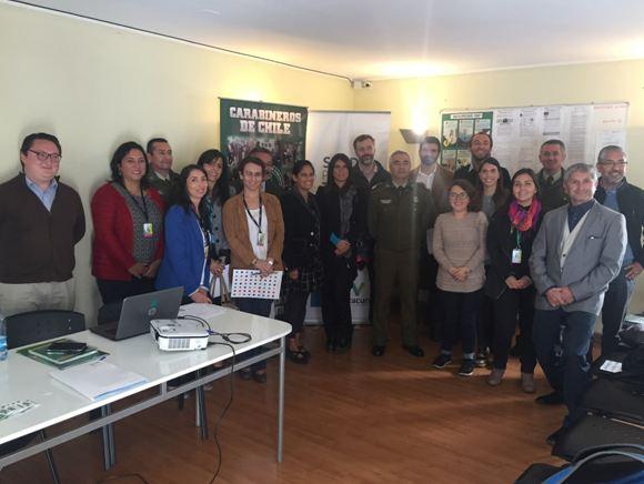 SENDA Previene Vitacura trabaja con red de establecimientos educacionales