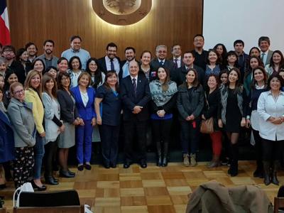 Director de SENDA encabezó encuentro sobre prevención con agentes educativos en visita a Región del Biobío