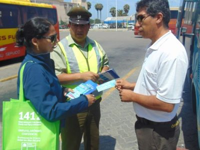 Coordinan trabajo preventivo en barrios y poblaciones