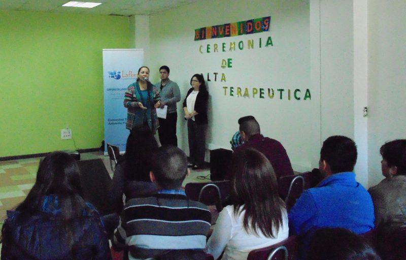 Jóvenes obtienen altas terapéuticas en centro de tratamiento Antulemu de Puerto Montt