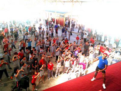 Alumnos de Colegio Interamericano celebran junto a SENDA Rancagua el Día Mundial  de la Actividad Física y el Deporte
