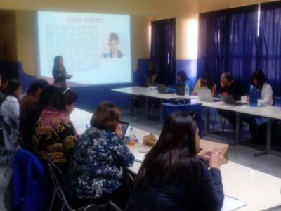 Capacitan a docentes de colegio Víctor Domingo Silva