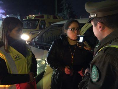 SENDA Araucanía refuerza labor preventiva con despliegue de operativo de ambulancia cero alcohol en fin de semana largo