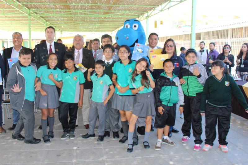 Colegio Centenario da puntapié inicial a los programas preventivos de SENDA