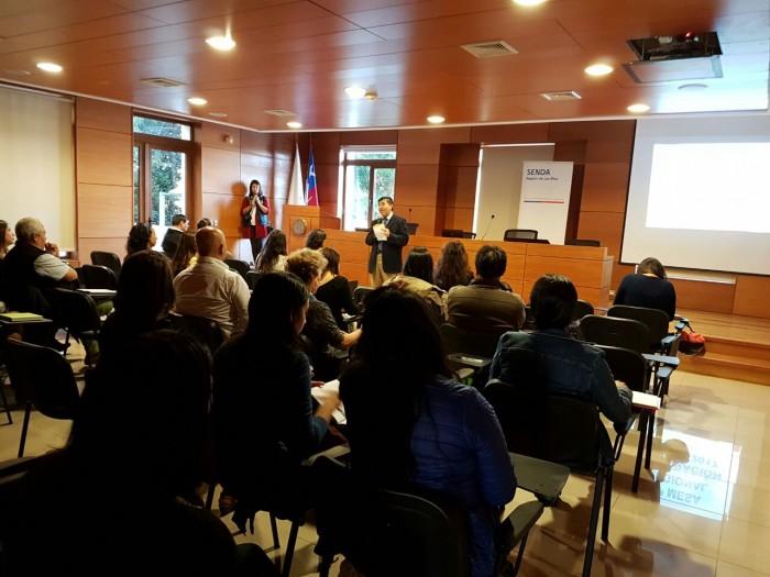 SENDA Los Ríos realizó 1ª Mesa de Integración Social del 2017