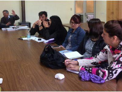 SENDA Previene Collipulli participa en primera reunión  de la mesa escolar de prevención y seguridad de la comuna