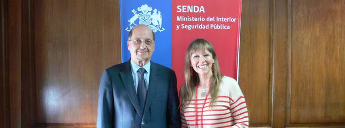 Director de SENDA recibió a representantes de la Fundación DAYA