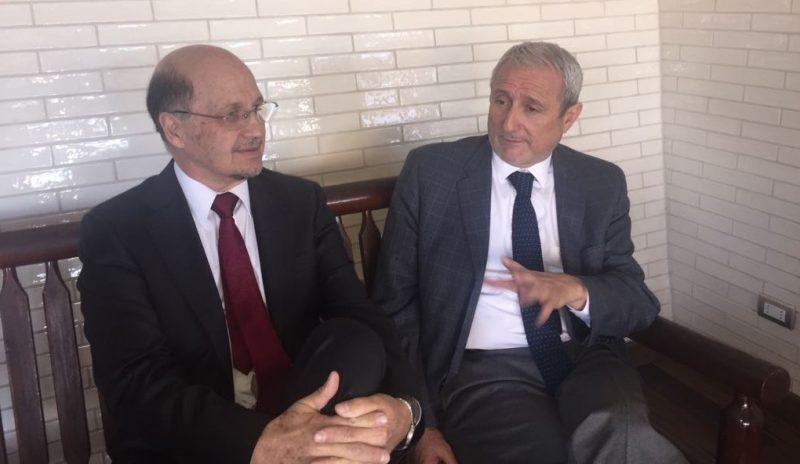 Director de SENDA sostiene reunión de trabajo con rector de la Universidad de Valparaíso