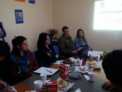 La Unión efectuó 1ª reunión de Comisión Comunal de SENDA Previene