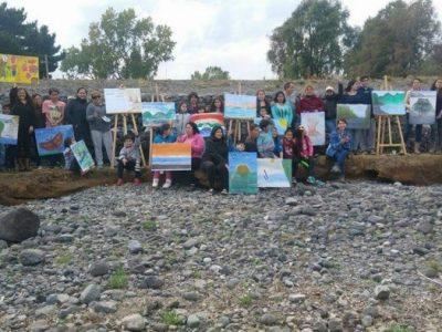 Con actividad familiar en Mantilhue SENDA Previene Río Bueno inició año escolar preventivo
