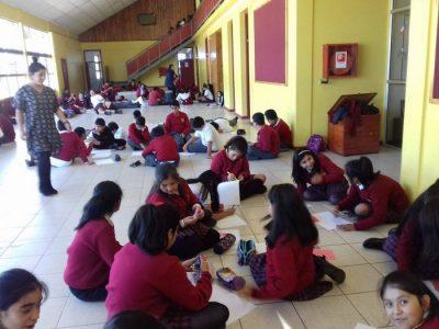SENDA Previene Paillaco y Escuela Particular N°95 Alemana iniciaron año escolar preventivo con masiva actividad