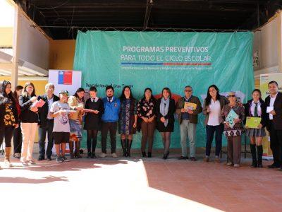 Senda Atacama llegará a más de 50 mil niños y niñas a través de sus programas de prevención
